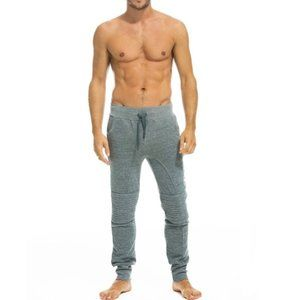AVIATOR NATION Grey Moto Sweatpants